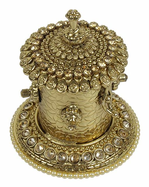 MUCH-MORE Designer Awesome Indian Bridal Sindoor Box Ethnic Women Jewelry