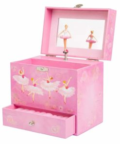 Play Platoon Ballerina Music Box for Girls - Ballet Dancer Jewelry Box