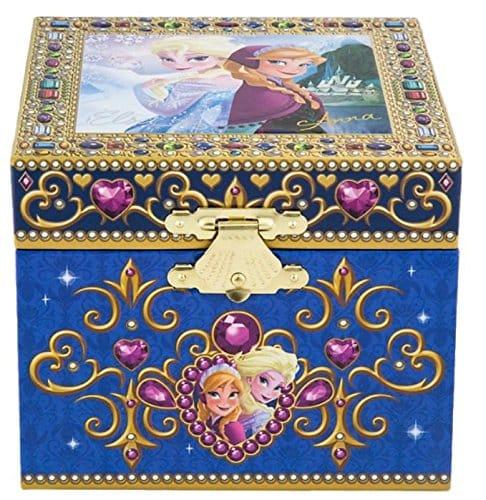 Disney Parks Frozen Elsa Anna Musical Jewelry Box NEW