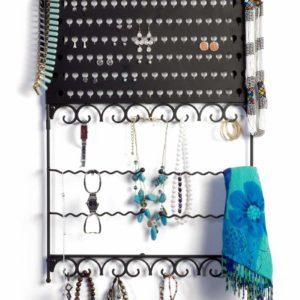 Mango Steam Wall-Mounted Jewelry & Earring Organizer