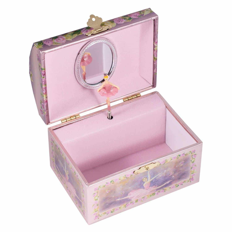 8ea2bd70c8d7 Childrens Purple Musical Music Box Jewelry Music Box Spinning Dancing  Ballerina Drawer-Tune is Swan Lake