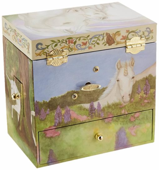 Enchantmints Unicorn Music Jewelry Box