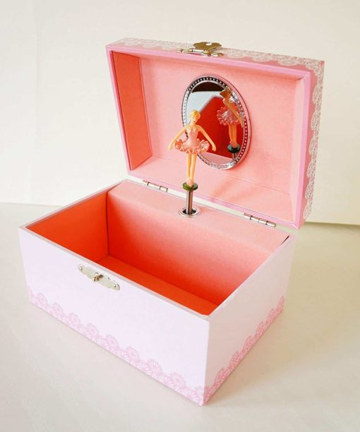"Lily & Ally / Flower Ballerina Musical Jewelry Box, with Melody of ""Waltz of the Flowers / the Nutcracker"""